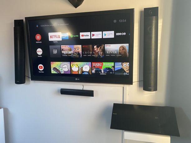 Zestaw kino domowe sony telewizor LG 42 android tv