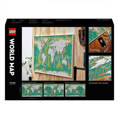 LEGO® Art Карта мира 31203