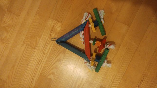 Zabawki akcesoria dla papug papużka falista