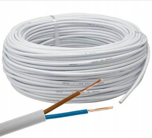 Przewód kabelowy 2x2,5mm2 OMY kabel 10 40m
