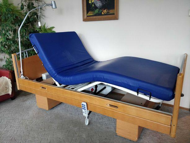 Łóżko rehabilitacyjne, medyczne, elektryczne+materac przeciwodleżynowy