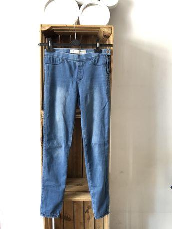 Rurki jeansy Denim