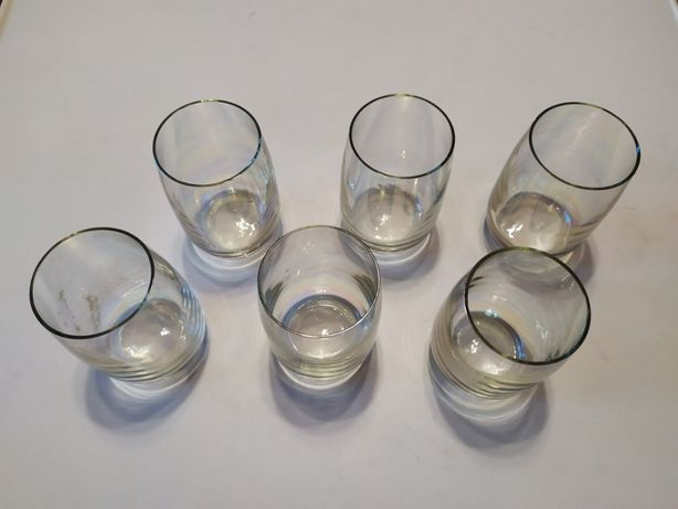 Набор стаканов (перламутр) времен СССР