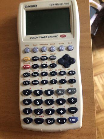 Calculadora casio profissional- color power graphic cfx-9850gb plus