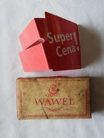 opakowanie po papierosach z PRLu Wawel antyk