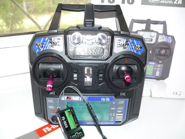 Радиоаппаратура FlySky-FSI6, пульт с приемником, 6-ть каналов, 2.4 гГц