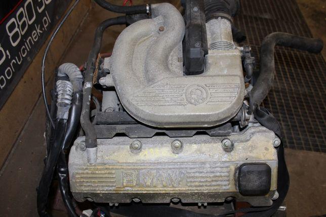 BMW E36 Silnik 1.6 Benzyna 316 M43B16 Słupek BDBstan 135tys Części BMA