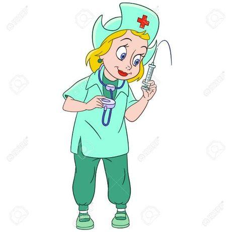 Медсестра на дом. Уколы. Проверка давления.