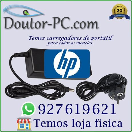 Carregador adaptador Portátil HP Cabo bateria Transformador 65W 90 120