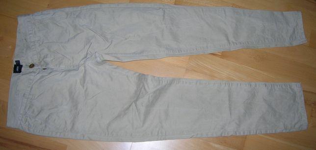 spodnie asos w 30 l 32 kolor piaskowy