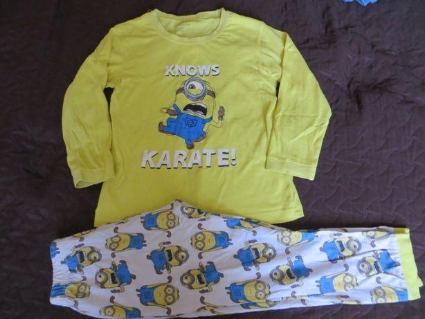 Пижама миньон р.120 см.хлопок 100%