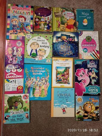 Książki  dla dzieci różne tytuly