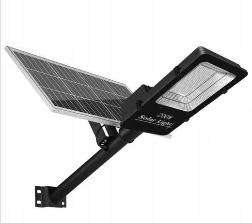 Lampa solarna ogrodowa uliczna HP-S03 200W pilot