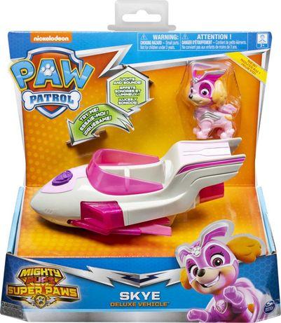 Psi Patrol Skye samolot + figurka światło dźwięk