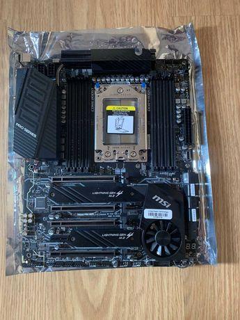 MSI TRX40 PRO WiFi Motherboard AMD sTRX4USB3.2 Gen2x2, DDR4