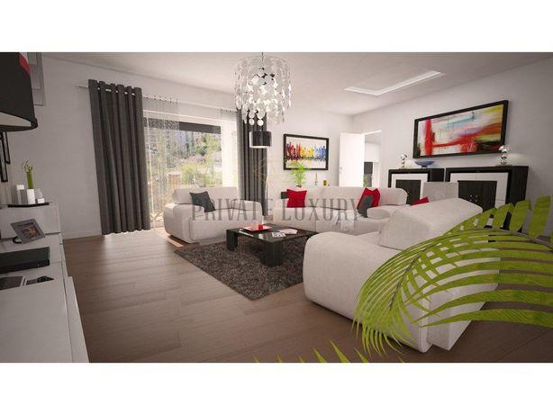 Apartamento T3 novo com terraço e estacionamento em Oeiras.