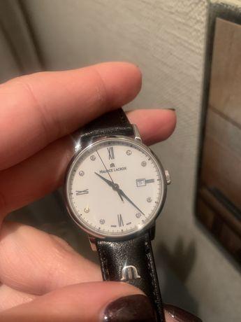 Швейцарские женские часы Maurice lacroix с бриллиантами