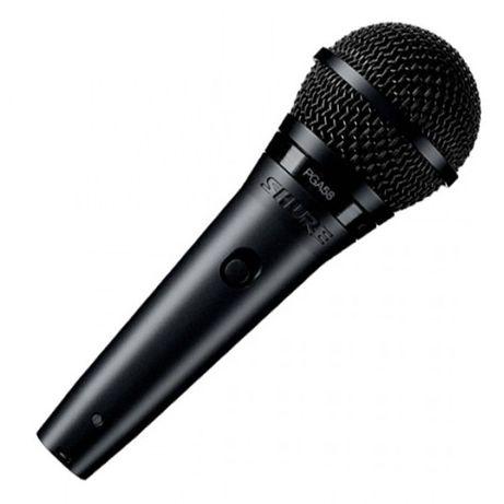 Microfone Dinâmico Cardiode Vocal (PGA 58) - SHURE + acessórios