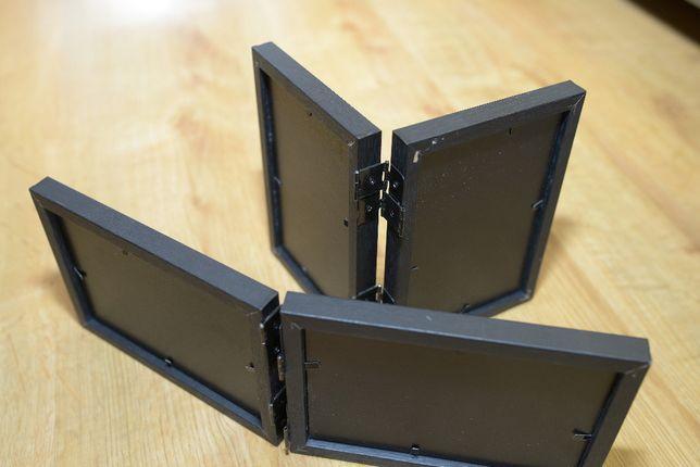 Ramki fotograficzne nowe 2x poziome i pionowe 10x15cm