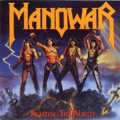 Manowar - Fighting The World - CD 1987