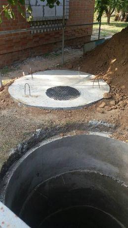 м выгребные ямы,стяжки,обмостки,фундаменты,траншеи под воду,канализаци