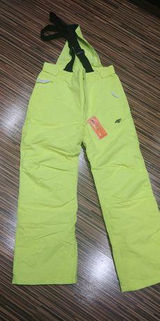 Spodnie narciarskie 4f rozm.164