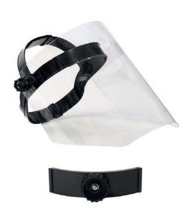 PROFESJONALNA przyłbica ochronna z gąbką ochronna na oczy i twarz