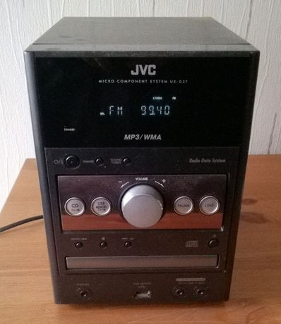 Mini wieża JVC UX-G37 mp3, USB z pilotem