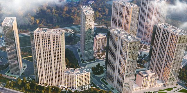 """Панорамная 2-я квартира в Голосеевском районе ЖК """"Метрополис"""" г.Киев"""