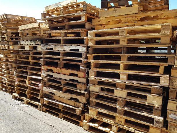 740 Paletes de madeira NOVAS ou USADAS - diferentes medidas