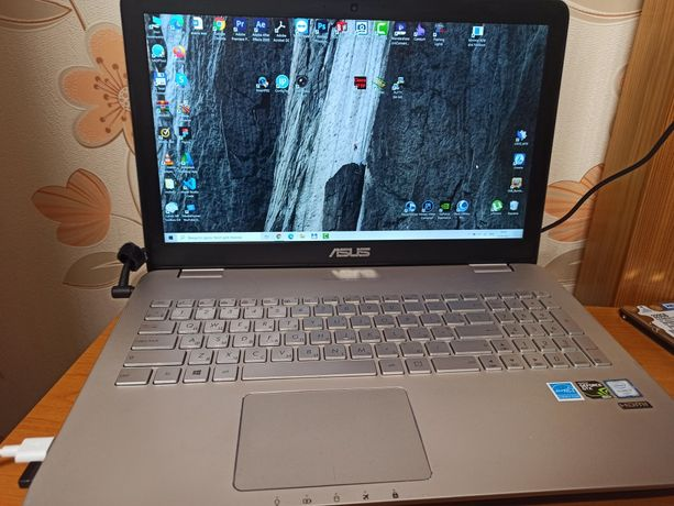 Ноутбук Asus N551V  RAM 16 ГБ / HDD 1 ТБ + SSD 128 ГБ /Intel Core i7