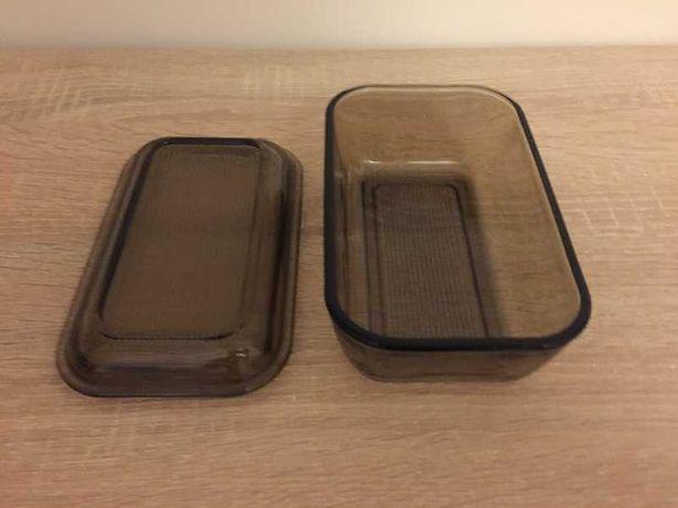 Szklany pojemnik z pokrywką / maselniczka Duralex