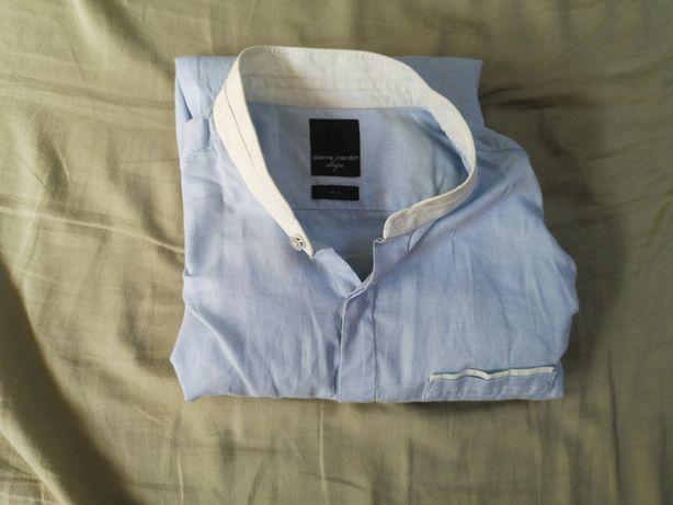 Koszula Pierre Cardin stójka 41 L Slim fit