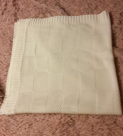 Одеяло плед в коляску кроватку