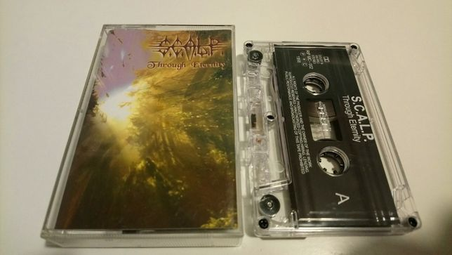 Kaseta (metal) - S.C.A.L.P. - Through Eternity (R.I.P.) /// SCALP