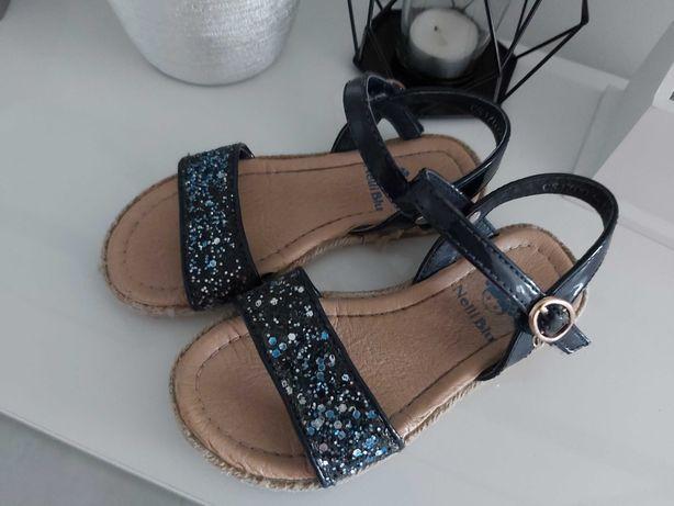 Sandałki dziewczęce Neil Blue