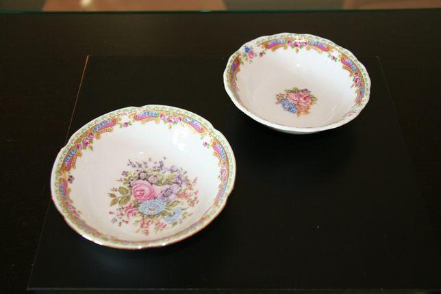 """2 taças em porcelana """"Limoges"""""""