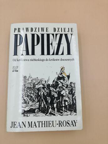 Książka,, Prawdziwe dzieje papieży ''