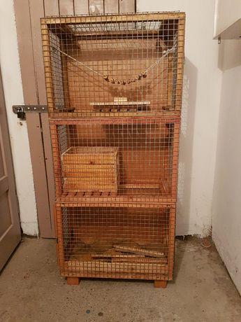 Sprzedam klatkę, która służyła jako domek dla wiewiórki