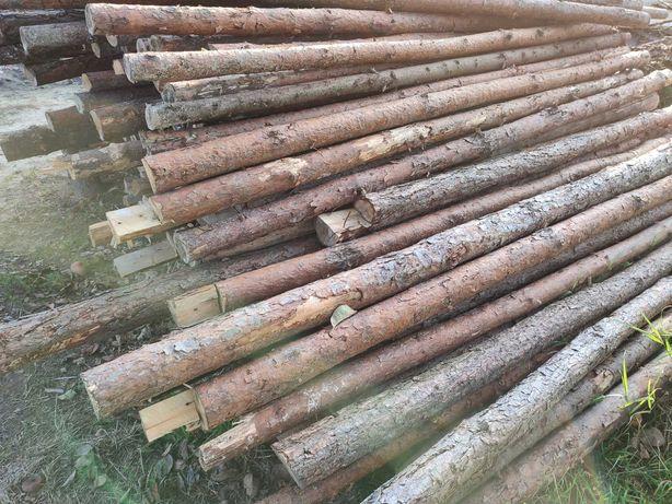 Stemple budowlane drewniane , deski szalunkowe