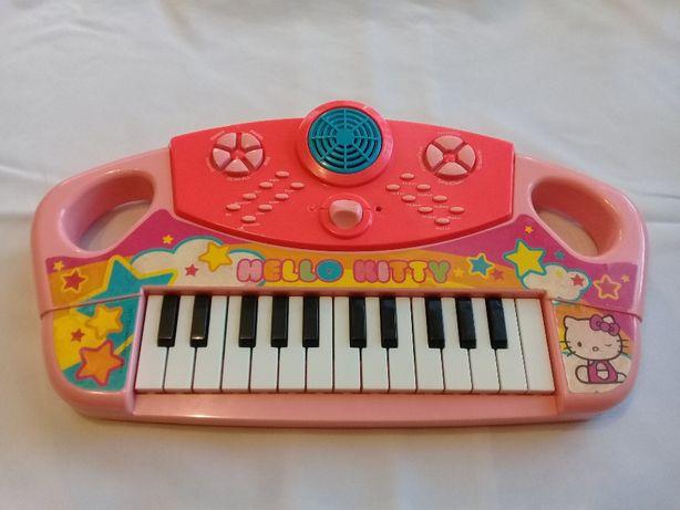 Детское пианино синтезатор Hello Kitty