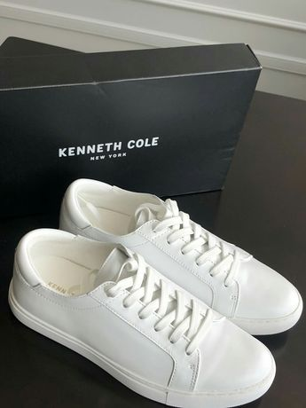 Kenneth Cole  кожа 7.5 US на 24.5 см кеды кроссовки Michael Kors