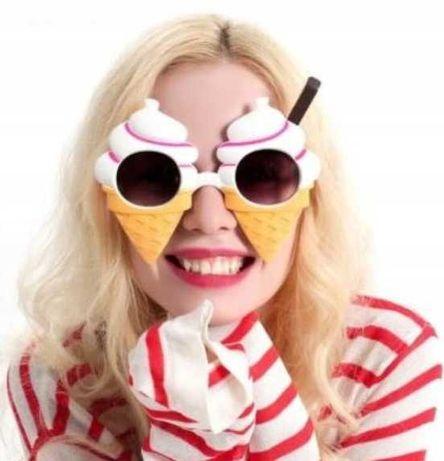Nowe Okulary Rożki Przeciwsłoneczne z filtrem