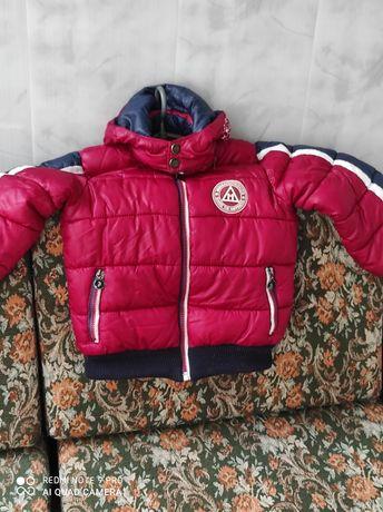 Курточка на 4-6лет