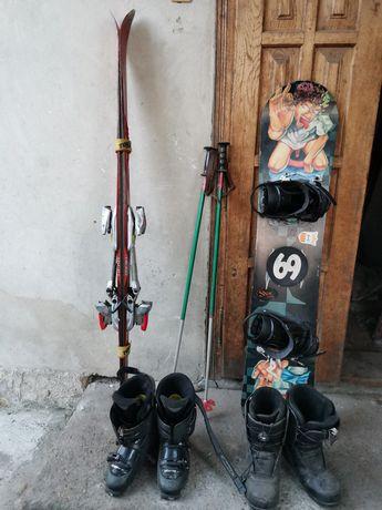 Лижі та сноуборд і взуття