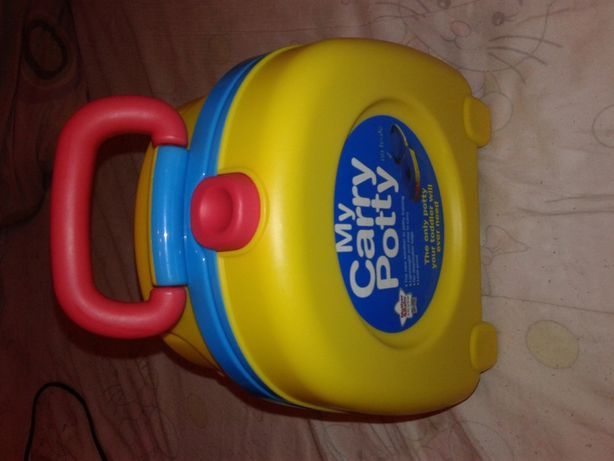 "Penico Bacio Sanita Portátil ""My Carry Potty"" - Estrear"