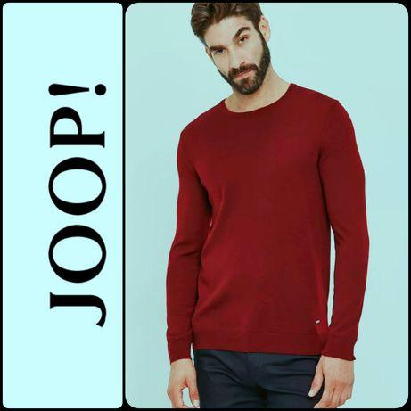 Joop! Мужской шерстяной джемпер (свитер) 100% шерсть. Размер 54-56.
