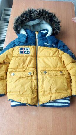 Kurtka zimowa chłopięca 104