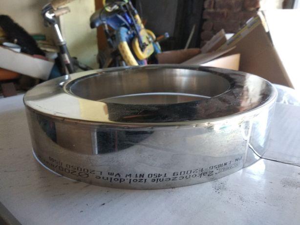 zakończenie izolacji komina KD 200/300 zaślepka koło nierdzewne
