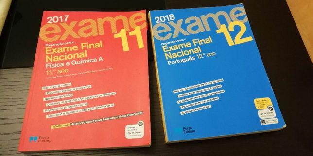 Preparação para exames 11-12 - FQ + PRT
